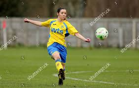Adele Rogers Torquay Ladies clears ball during Editorial Stock Photo -  Stock Image | Shutterstock