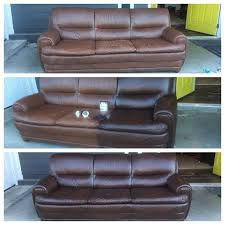 staining a leather couch couch