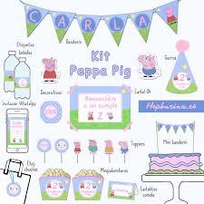 Kit Completo Peppa Pig Hepburina