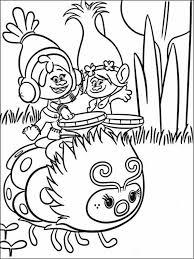 Trolls Kleurplaat Printen 7