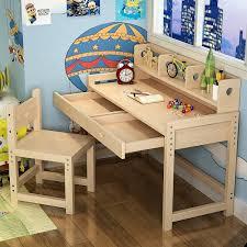 Harriet Bee Willenhall Solid Wood Kid Study Desk With Chair Set Wayfair
