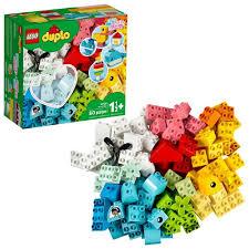 Bộ Đồ Chơi Xếp Hình Lego 10909 Chi Tiết Hình Trái Tim (80 Miếng)