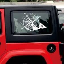 48 34cm Off Road Compass Car Sticker Rose Navigate Vinyl Sticker Decal Car Truck Auto Laptop Car Door And Hood Aliexpress Com Imall Com