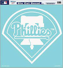 Amazon Com Mlb Philadelphia Phillies 18 By 18 Diecut Decal Sports Fan Decals Sports Outdoors