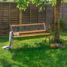 vintage victorian style garden bench
