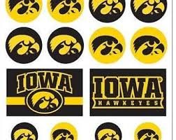 Iowa Hawkeye Decal Etsy