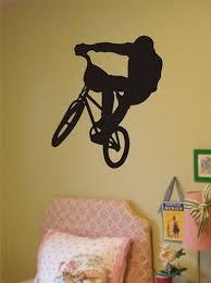 Bmx Biker Version 1 Design Sports Decal Sticker Wall Vinyl Boop Decals