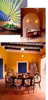 spanish mexican interior style homes