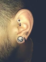 15 most bad ear piercings for men
