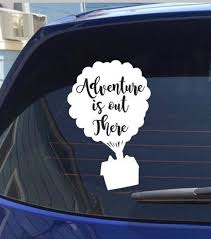 Disney Up Adventure Is Out There Decal Etsy