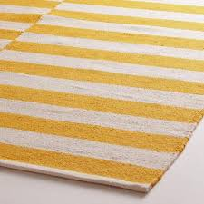 white striped dhurrie area rug