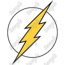 Flash Logo T Shirt Iron On Transfer Decal 11
