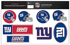 Amazon Com Skinit New York Giants Decal Packs Officially Licensed By The Nfl 8 Premium 3m Vinyl Stickers Sports Outdoors