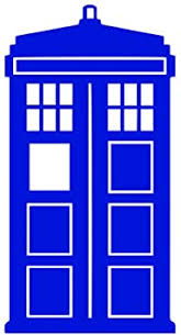 Amazon Com Bargain Max Decals Tardis Dw Whovian Sticker Decal Notebook Car Laptop 4 Blue Automotive