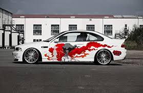 Amazon Com Afro Samurai Car Decal Sticker Blood Sun Both Sides Handmade