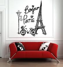 Paris Wall Decal Paris Skyline Wall Sticker Eiffel Tower Etsy In 2020 Wall Stickers Eiffel Tower Paris Wall Eiffel Tower Wall Art
