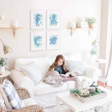 Turtle Blue Watercolour Art Print Nursery And Kids Bedroom Decor Hayleylaurendesign