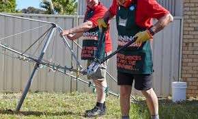How To Remove A Rotary Clothesline Bunnings Warehouse Nz