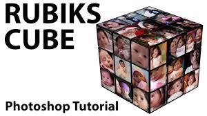 create a rubik s cube photo frame