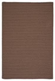 simply home solid rug cashew