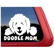 Doodle Mom High Quality Vinyl Goldendoodle Labradoodle Dog Window Decal Walmart Com Walmart Com