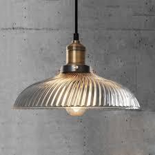 glass shade pendant light lucy