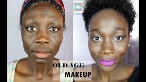 easy old age makeup you