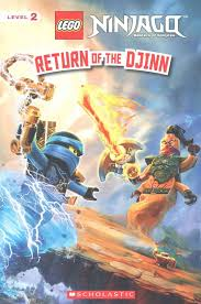 Buy Return of the Djinn (Lego Ninjago: Reader) by Kate Howard With ...