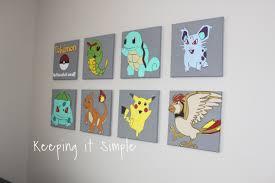 Pokemon Vinyl Decals Wall Art 5 2 Keeping It Simple