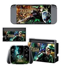 Vinyl Decal Skin Sticker For Nintendo Switch Ns Game Console And Controller Skins Cover Set