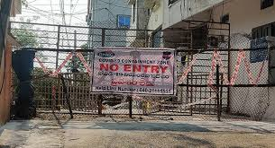 This Is How Containment Zones Will Be Managed In Hyderabad