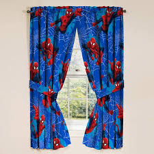 Marvel Spiderman Kids Bedroom Curtain Panel Set Set Of 2 63 Inch L Walmart Com Walmart Com