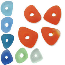 cultured sea glass beads varies large
