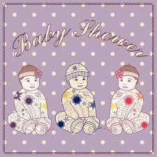 3 triplet baby shower themes triplets mum