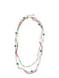 PIPOL'S BAZAAR Sonya Long Necklace Spring (Multi Coloured), (12.80 €) |  Large selection of outlet-styles | Booztlet.com