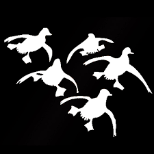 Cute Flying Ducks Landing Hunting Auto Car Sticker Waterfowl Graphic Vinyl Decal Vinyl Decal Auto Carvinyl Car Decal Aliexpress