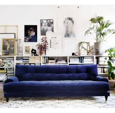 view gallery of dark blue sofas