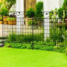 Garden Folding Metal Fence Panel In 2020 Fence Panels Metal Fence Panels Metal Fence