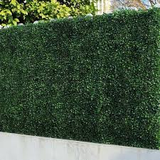 6 Boxwood Hedge Panels Artificial Greenery Fence Screen Garden Privacy Mat Wall Ebay