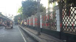 Ina Reformina On Twitter Red Ribbons Tied Onto Sc Centennial Bldg Fence And Gate Along Taft Ave By The Supreme Court Employees Association Scea A Day Before Sereno Quo Warranto Case Voting