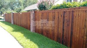 Residential Fencing Superior Fence Co San Antonio