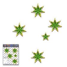 Green Gold Southern Cross Stars Australia Small Car Sticker Etsy