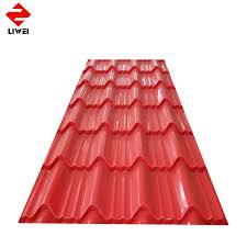 galvanized corrugated steel plate