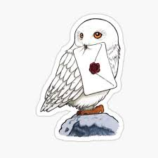 Hedwig Sticker By Janneman99 Redbubble
