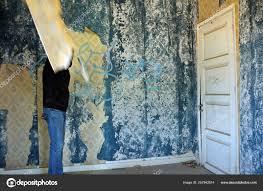 abandoned house empty room weathered