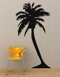 Large Palm Tree Wall Decal Sticker 132 Stickerbrand