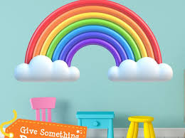 Rainbow Wall Decals Uk Tags Personalized Wall Stickers Decal Decoration By Deign Rainbow Nz Decoration Idea Inc Edion Nj