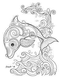 Kleurplaat Dolfijn 19 Topkleurplaat Nl