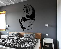 The Flash Wall Decal Flash Themed Super Hero Wall Decal Comics Decals Dc Kids Room Wall Decor Theme Room Decor Kids Room Wall Decor Wall Decals