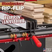 Woodpeckers Rip Flip Fence